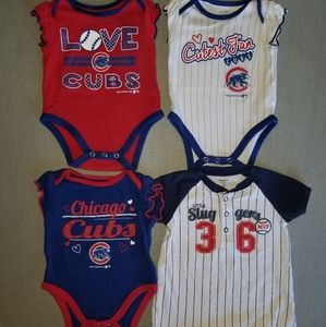 Chicago Cubs baby Lot